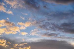 Evening sky background photo