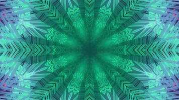 Ilustração 3D de fundo abstrato holográfico multicolorido