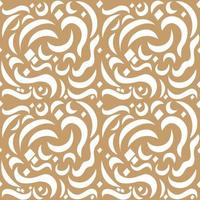 Seamless Pattern Arabic Middle East Background Calligraphy Letter vector
