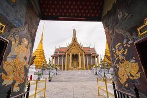 Bangkok, Thailand- Temple of the Emerald Buddha
