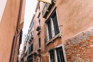 The old Venice streets of Italy