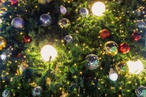 Christmas tree decor photo