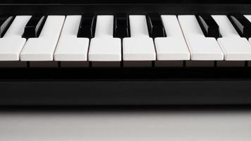 primer plano de un teclado foto