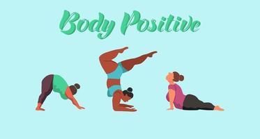 concepto positivo del cuerpo vector