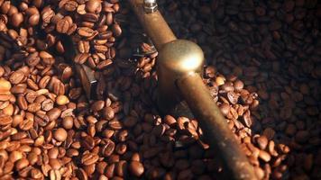 Coffee in a Roasting Machine video