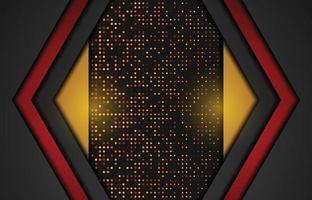 Fondo moderno con efecto brillo. Fondo de papercut realista abstracto. fondo geométrico abstracto. ilustración vectorial 3d. ilustración vectorial eps 10 vector