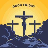 Happy Good Friday Design vector
