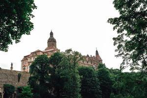 Swiebodzice, Poland 2017- Castle Ksiaz in Swiebodzice, Poland photo