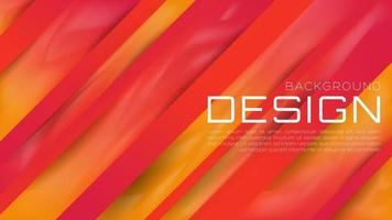 Abstract 3D Liquid Gradient Background with Vibrant Color for Web Landing Page and Wallpaper vector