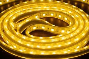 carrete de luces led foto