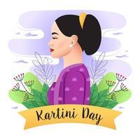 Happy Kartini Day vector