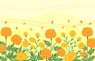 flor de primavera vector