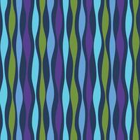blue green purple wavy lines striped vector background pattern
