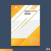Brochure layout design. Corporate business annual report, catalog, magazine, flyer template vector