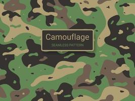 Army and military camouflage texture seamless pattern background vector