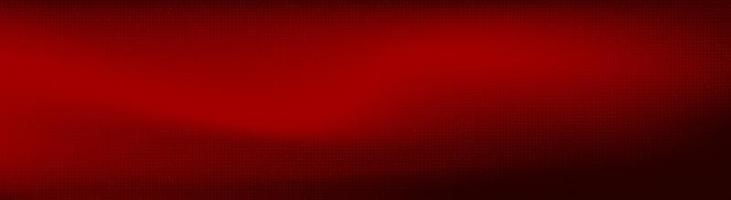 Panorama de microchip digital rojo sobre fondo de tecnología vector