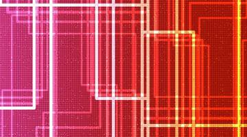 Fondo de tecnología de luz de neón, diseño de concepto digital y de seguridad, espacio libre para texto vector