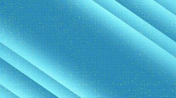 Microchip de luz azul sobre fondo de tecnología, diseño de concepto digital y de seguridad de alta tecnología, espacio libre para texto vector