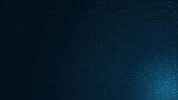 Microchip azul suave sobre fondo de tecnología, diseño de concepto de alta tecnología y seguridad vector