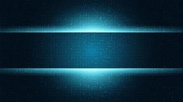 Fondo de tecnología cibernética, diseño de concepto digital y de seguridad. vector