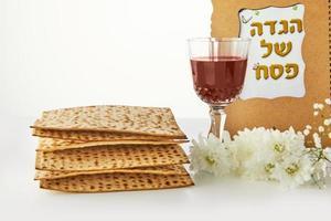 Pesah celebration concept - jewish Passover holiday photo