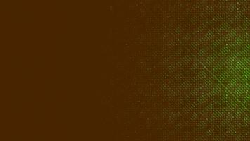 Microchip amarillo y verde sobre fondo de tecnología, diseño de concepto vintage y de seguridad vector
