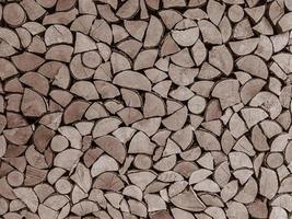 Firewood textured background photo