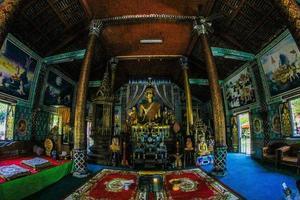 Nakhon Pathom, Tailandia, 2021 - Dentro del Wat Phra Pathom Chedi foto