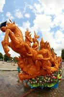 Ubon Ratchathani, Thailand, 2021 - Float in The Candle Wax Festival