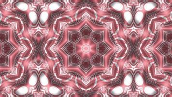 abstrakter Kaleidoskophintergrund nahtlos schleifend