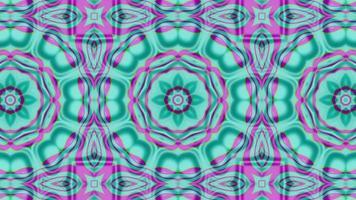 fond abstrait kaléidoscope en boucle en toute transparence video