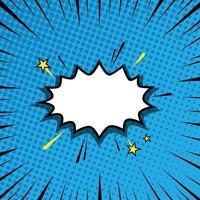 Comic Halftone Background Concept vector