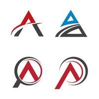 imágenes de logo letra a vector