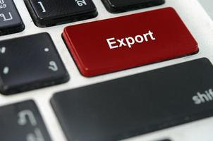 botón exportar teclado foto