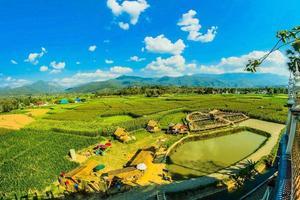 Phuket Island, Thailand, 2021 - Aerial view of a farm photo