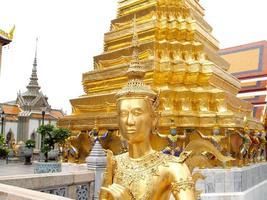 Bangkok, Thailand, 2021 - Wat Phra Kaew Temple