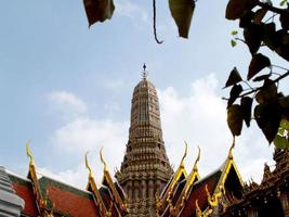 bangkok, tailandia, 2021 - templo de wat phra kaew foto