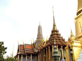 Bangkok, Thailand, 2021 - View of The Wat Phra Kaew photo