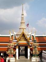 Bangkok, Thailand, 2021 - Entrance of The Wat Phra Kaew photo