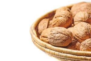 Bowl of walnuts photo