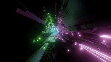 Sci fi abstract 3d illustration photo
