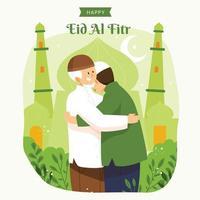 Happy Eid Al Fitr Design vector