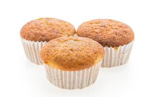 magdalenas de muffin de plátano foto