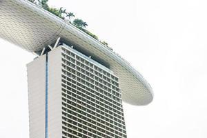 Marina bay building in Singapore