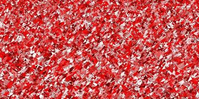 Light Red vector pattern with polygonal style.