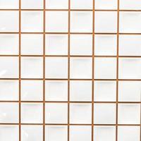 Fondo de texturas de pared de azulejo blanco