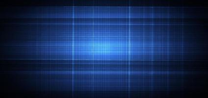 Abstract blue background with white grid lines texture. Technology concept. vector