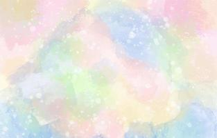 Colorful Watercolor Background with White Accent vector