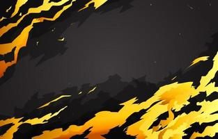 Black Gold Electric Background vector
