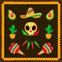 cinco de mayo mexico icon vector